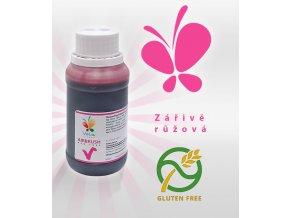 Barva tekutá cukrářská Airbrush (růžová) 100 ml/lahvička