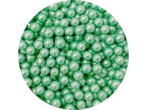 Cukrové perly zelené (50 g)