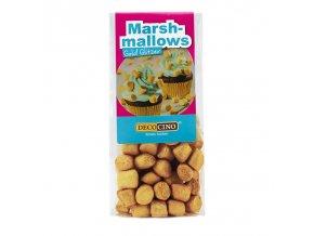 DecoCino cukrová dekorace - Marshmallows zlaté - 30g