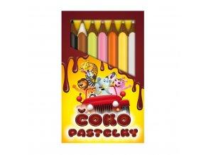 Čokopastelky z mléčné čokolády - 90g