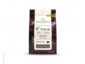 Belgická čokoláda 70% 2,5Kg - hořká - Callebaut