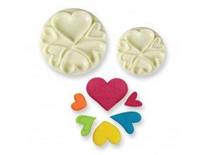 Tvarovač srdce - easy pops hearts 2ks
