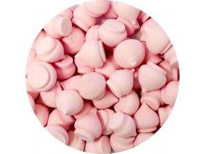 Cukrové pusinky růžové (50 g)