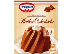 Dr. Oetker Premium puding Hořká čokoláda (40 g)