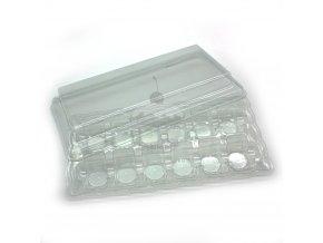 Krabička na makronky - 12 - 1ks