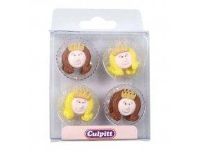 Cukrové zdobení princezny 12ks - Culpitt