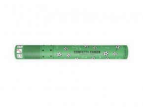 PartyDeco Vystřelovací konfety fotbalové míče 40 cm