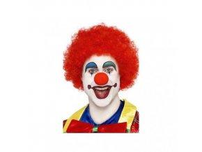 klaunský nos molitanový červený
