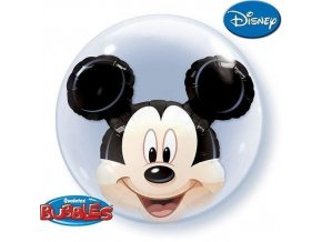 Dvojitá foliová bublina Mickey Mouse 61cm
