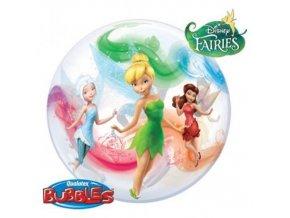 Foliová bublina Disney Víly 56 cm