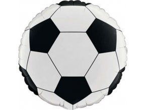 Foliový balonek fotbalový míč 45 cm