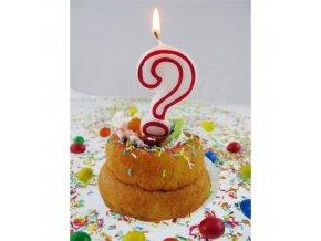 Svíčka narozeninová číslice ?