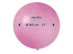 Obří nafukovací balon - světle růžová