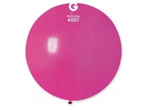 Obří nafukovací balon - tmavě růžová
