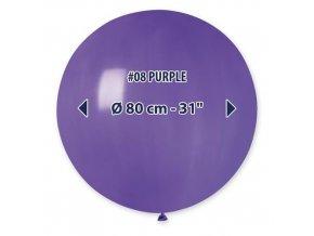 Obří nafukovací balon - tmavě fialová