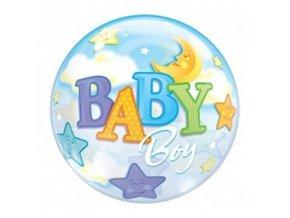 Foliová bublina Baby boy 56 cm