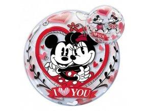 Fóliová bublina Mickey a Minnie I Love You 56 cm