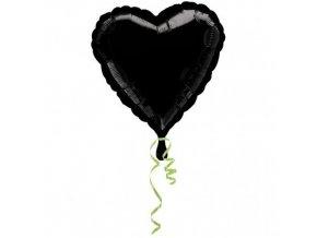 Foliový balonek srdce červené 45 cm