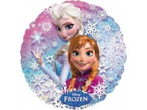 Foliový holografický balonek Frozen - Anna a Elsa 43 cm