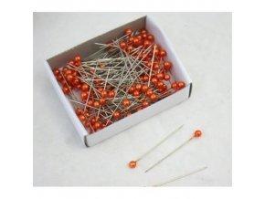 Špendlíky oranžové 55 mm - 144 ks