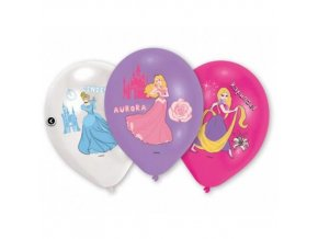 Latexové balonky Disney Princess 6 ks