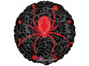 Foliový balonek s pavoukem 45 cm
