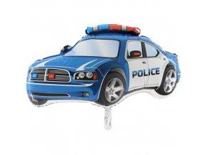 Foliový balonek Policejní auto modré 80 cm