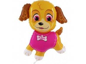 Foliový balonek Pejsek Puppy 100 cm