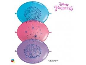 Spojovací balonek Princess 30 cm - 10 ks