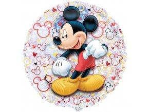 Foliový holografický balonek Mickey 45 cm