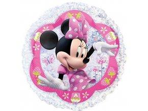 Foliový holografický balonek Minnie Mouse 45 cm