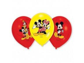 Latexové balonky Mickey Mouse 6 ks