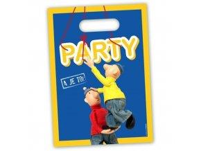 Party tašky Pat a Mat 8 ks