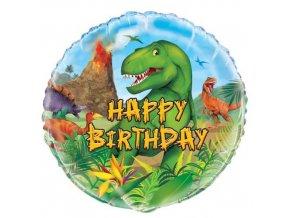 Foliový balonek dinosaur 45 cm