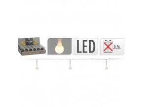 Dekorační řetez se světýlky - kapičky 20 LED