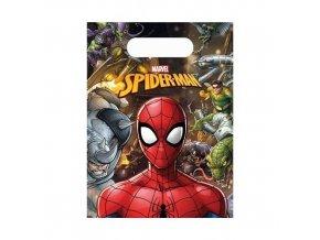 Party tašky Spiderman Team Up 6 ks