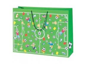 Dárková taška fotbal XXL 61 x 46 x 18 cm