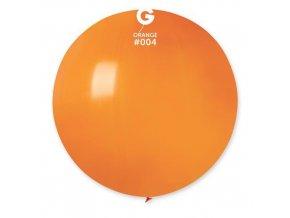 Balon jumbo oranžový 100 cm