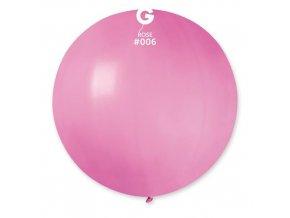Balon jumbo růžový 100 cm