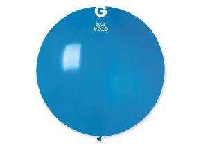 Balon jumbo modrý 100 cm