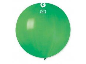 Balon jumbo zelený 100 cm