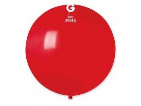 Balon jumbo červený 100 cm