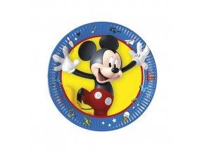 Papírové talířky Mickey Palts at Play 20 cm - 8 ks
