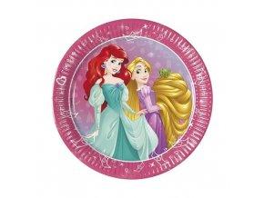 Papírové party talířky Princess Dream Day 20 cm