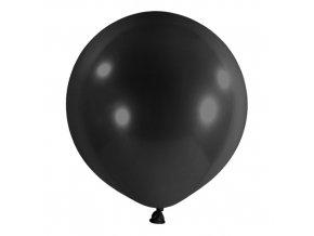 Dekorační balonky černé 60 cm - 4 ks