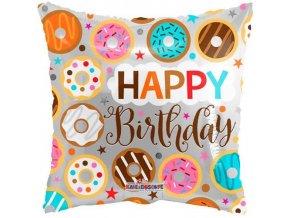 Foliový balonek Pillow donuts 46 cm