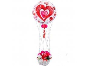 Dekorační síťka na balon 40 cm
