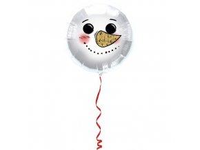 Foliový balonek sněhulák 45 cm
