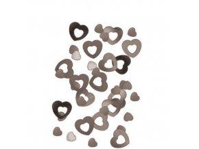 Konfety Stříbrná srdce 14 g