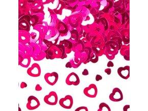 Konfety Růžová srdce 14 g